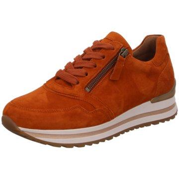Gabor Sportlicher Schnürschuh orange