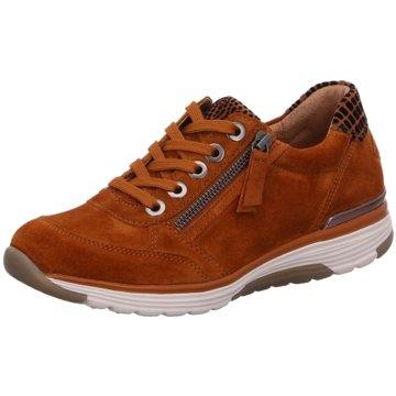 Gabor Sportlicher SchnürschuhSneaker braun