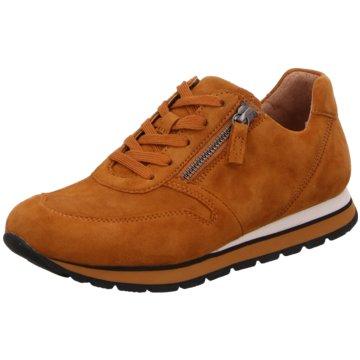 Gabor Sportlicher SchnürschuhSneaker orange
