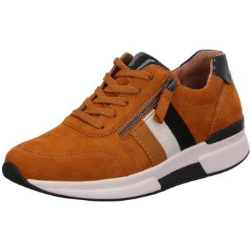 Gabor comfort Sportlicher Schnürschuh orange