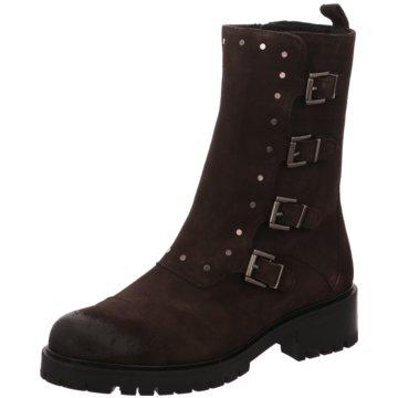 Alpe Woman Shoes Biker Boot grau