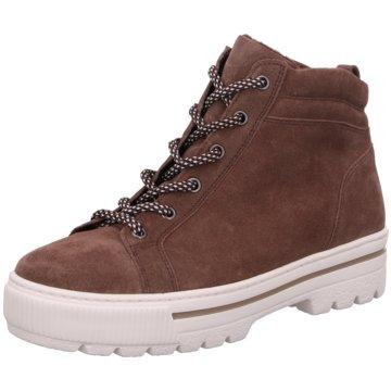 Gabor comfort Sneaker High braun