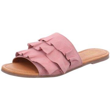 Apple of Eden Top Trends Pantoletten rosa