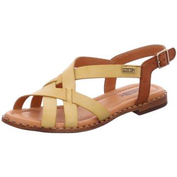 Pikolinos Sandale gelb