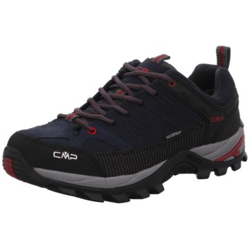 CMP Outdoor SchuhRIGEL LOW TREKKING SHOES WP - 3Q13247 grau
