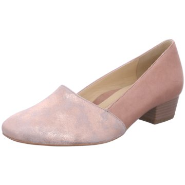 ara Flacher Pumps rosa