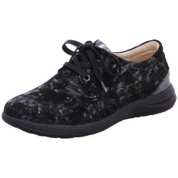 Fidelio Komfort Schnürschuh schwarz