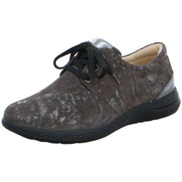 Fidelio Komfort Schnürschuh braun