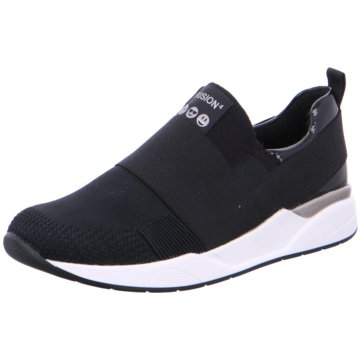 ara Sportlicher Slipper schwarz