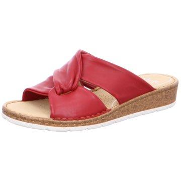 ara Komfort Pantolette rot