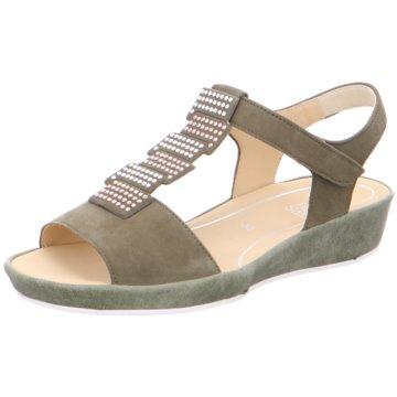 ara Komfort Sandale grün
