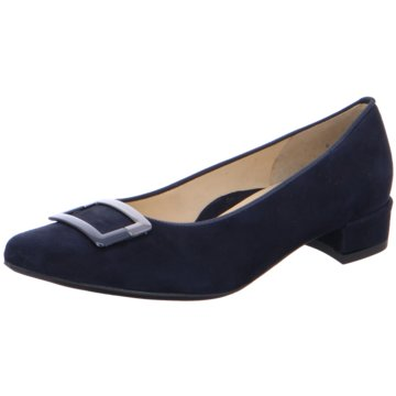ara Flacher Pumps blau
