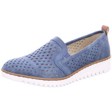 Jenny Klassischer Slipper blau