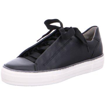ara Plateau Sneaker schwarz