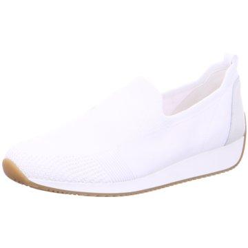 ara Sportlicher Slipper weiß
