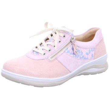Fidelio Komfort Schnürschuh rosa