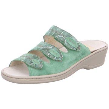 Fidelio Komfort Pantolette grün