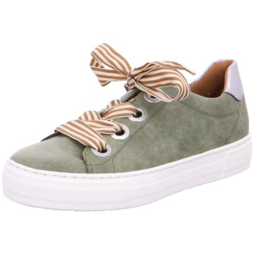 Jenny Plateau Sneaker grün