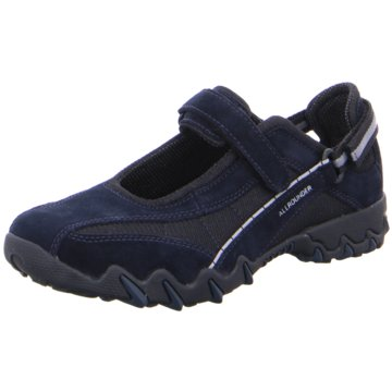 Mephisto Komfort Slipper blau