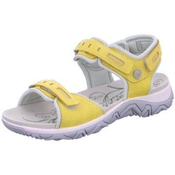 Allrounder Komfort Sandale gelb