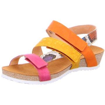 Think Komfort Sandale gelb