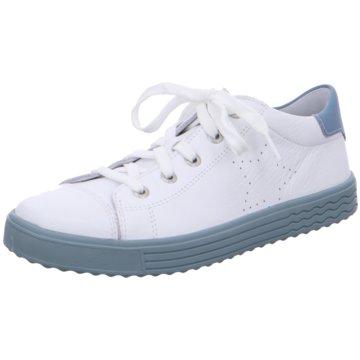 Lurchi Sportlicher Schnürschuh weiß