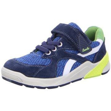 Lurchi Sportlicher Schnürschuh blau