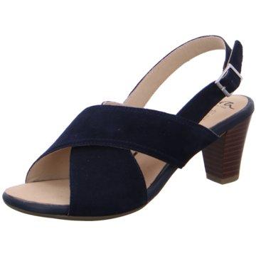 ara Sandalette blau