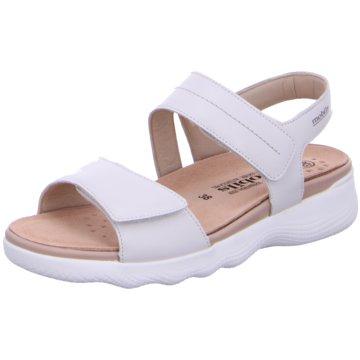 Mobils Komfort Sandale weiß