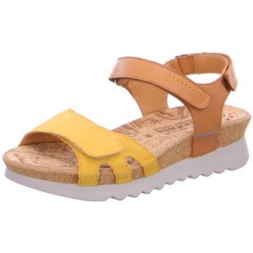 Mephisto Komfort Sandale gelb