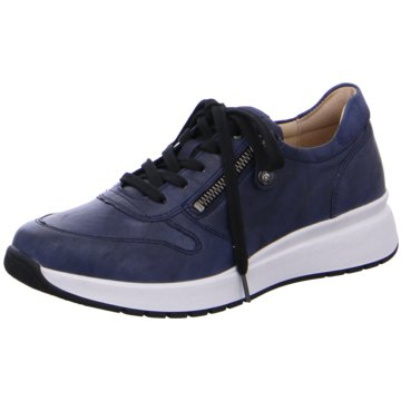 Fidelio Sportlicher Schnürschuh blau