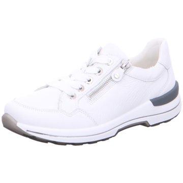 ara Sportlicher Schnürschuh weiß