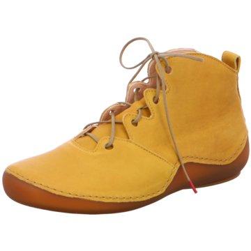 Think Komfort Stiefelette gelb