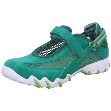 Allrounder Outdoor Schuh grün