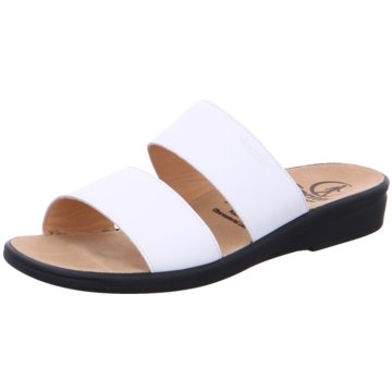 Ganter Komfort PantoletteSonnica weiß