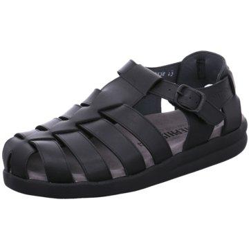 Mephisto Komfort Slipper schwarz