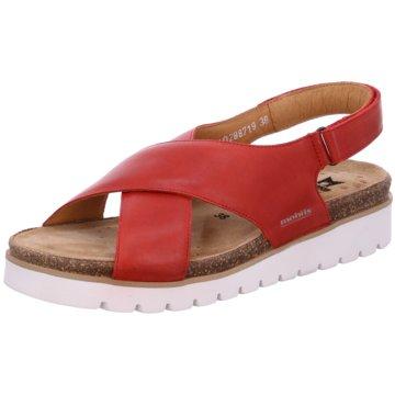 Mobils Komfort Sandale rot
