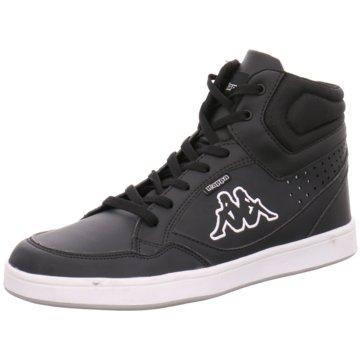Kappa Sneaker HighForward schwarz