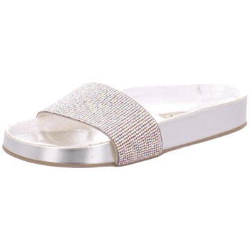Buffalo Pool Slides silber