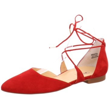 Paul Green Top Trends BallerinasSamtleder rot