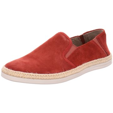 Clarks Espadrille rot