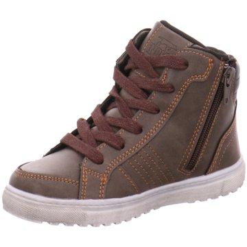 Indigo Sneaker High braun