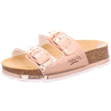 Superfit Offene Schuhe gold
