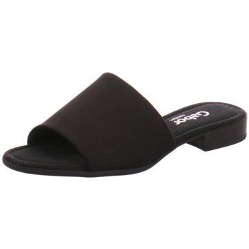 Gabor Klassische Pantolette schwarz