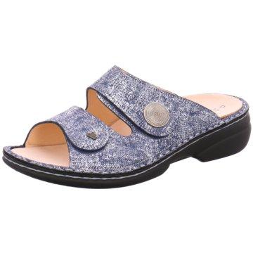 FinnComfort Komfort PantoletteSansibar blau