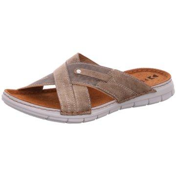 Fischer Schuhe Pantolette beige