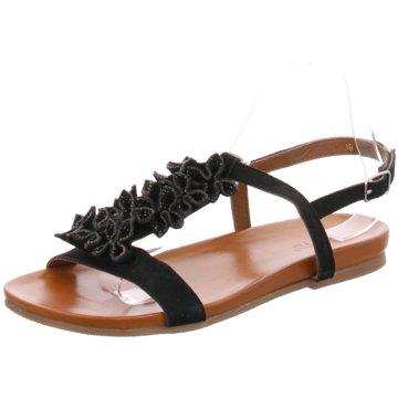 Lota Top Trends Sandaletten schwarz