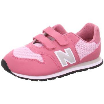 New Balance Klettschuh pink