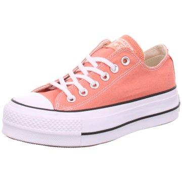 Converse Plateau Sneaker orange