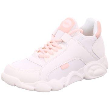 Buffalo Plateau Sneaker weiß
